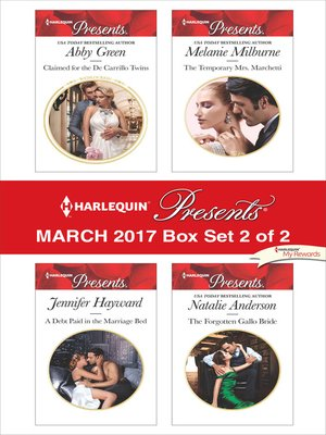 cover image of Harlequin Presents March 2017, Box Set 2 of 2