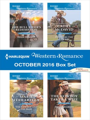 cover image of Harlequin Western Romance October 2016 Box Set