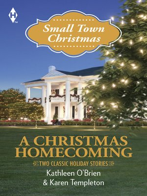 cover image of A Christmas Homecoming: Christmas in Hawthorn Bay\Husband Under Construction
