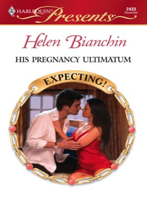 cover image of His Pregnancy Ultimatum