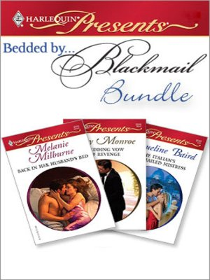 cover image of Bedded by Blackmail Bundle