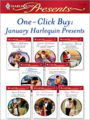 cover image of January Harlequin Presents