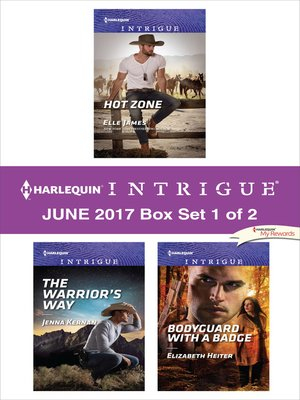 cover image of Harlequin Intrigue June 2017--Box Set 1 of 2