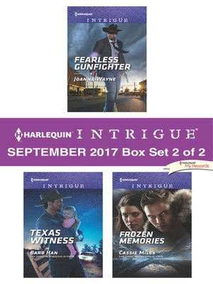 cover image of Harlequin Intrigue September 2017--Box Set 2 of 2