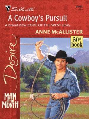 cover image of A Cowboy's Pursuit