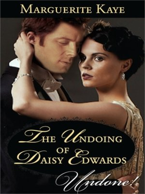 cover image of The Undoing of Daisy Edwards