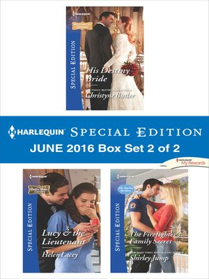 cover image of Harlequin Special Edition June 2016 Box Set, 2 of 2