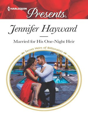 cover image of Married for His One-Night Heir