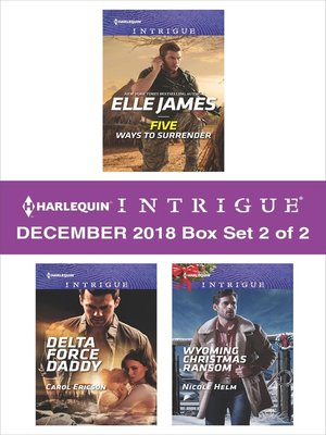 cover image of Harlequin Intrigue December 2018--Box Set 2 of 2