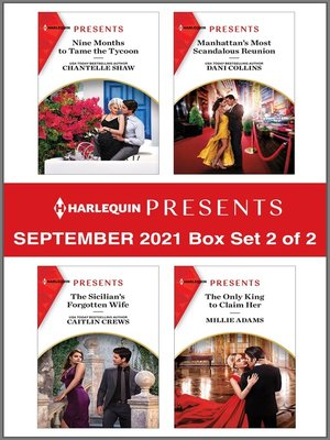 cover image of Harlequin Presents September 2021--Box Set 2 of 2