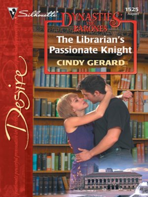 cover image of The Librarian's Passionate Knight