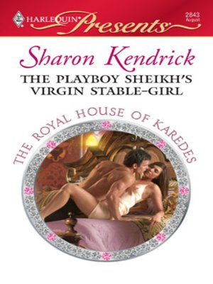cover image of The Playboy Sheikh's Virgin Stable-Girl