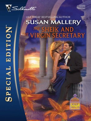 cover image of The Sheik and the Virgin Secretary