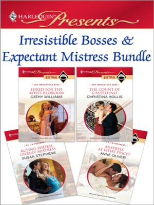 cover image of Irresistible Bosses & Expectant Mistresses Bundle
