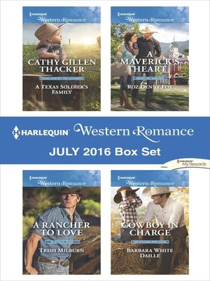 cover image of Harlequin Western Romance July 2016 Box Set