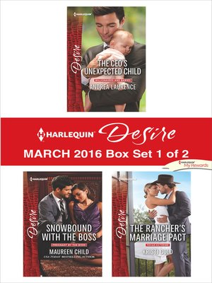 cover image of Harlequin Desire March 2016, Box Set 1 of 2