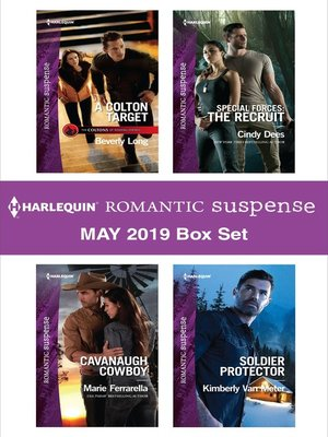 cover image of Harlequin Romantic Suspense May 2019 Box Set