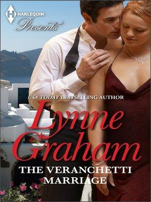 cover image of The Veranchetti Marriage
