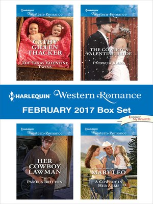 cover image of Harlequin Western Romance February 2017 Box Set