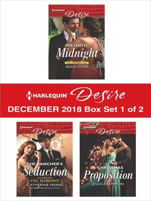 cover image of Harlequin Desire December 2018 Box Set: 1 of 2