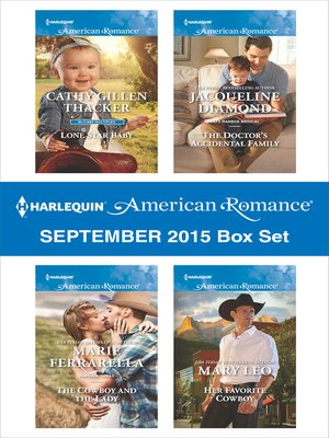 cover image of Harlequin American Romance September 2015 Box Set