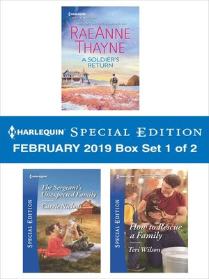 cover image of Harlequin Special Edition February 2019, Box Set 1 of 2