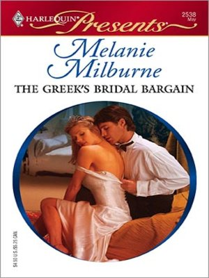 cover image of The Greek's Bridal Bargain