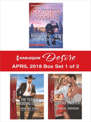 cover image of Harlequin Desire April 2018--Box Set 1 of 2
