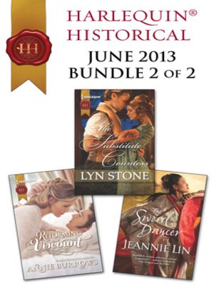 cover image of Harlequin Historical June 2013 - Bundle 2 of 2: The Substitute Countess\Reforming the Viscount\The Sword Dancer