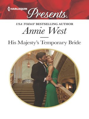 cover image of His Majesty's Temporary Bride--A Passionate Royal Engagement Romance