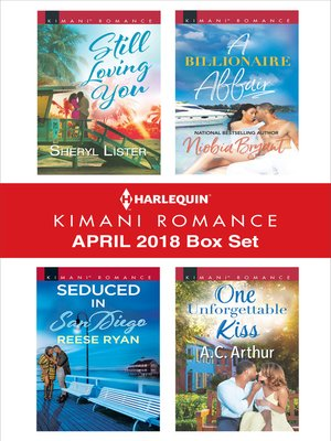 cover image of Harlequin Kimani Romance April 2018 Box Set
