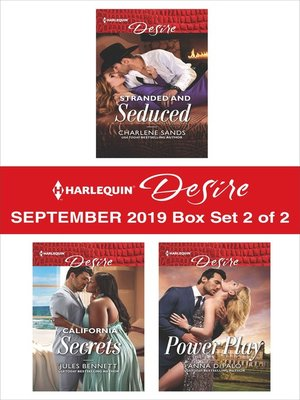 cover image of Harlequin Desire September 2019--Box Set 2 of 2