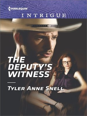 cover image of The Deputy's Witness--A High-Stakes Police Procedural