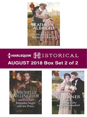 cover image of Harlequin Historical August 2018--Box Set 2 of 2