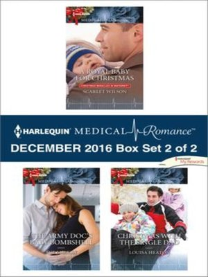 cover image of Harlequin Medical Romance December 2016, Box Set 2 of 2