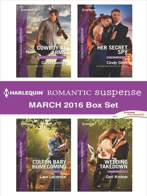 cover image of Harlequin Romantic Suspense March 2016  Box Set