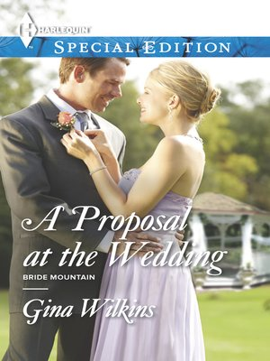 cover image of A Proposal at the Wedding