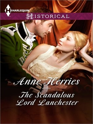 cover image of The Scandalous Lord Lanchester