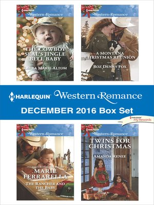 cover image of Harlequin Western Romance December 2016 Box Set