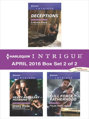 cover image of Harlequin Intrigue April 2016, Box Set 2 of 2