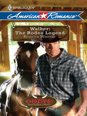 cover image of Walker: The Rodeo Legend
