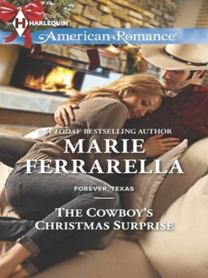 cover image of The Cowboy's Christmas Surprise