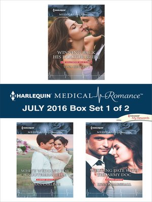 cover image of Harlequin Medical Romance July 2016, Box Set 1 of 2