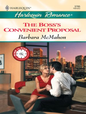 cover image of The Boss's Convenient Proposal