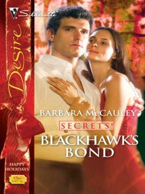 cover image of Blackhawks' Bond