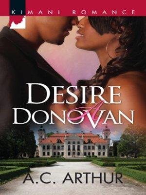 cover image of Desire a Donovan