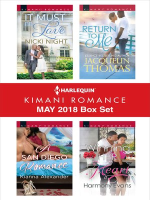 cover image of Harlequin Kimani Romance May 2018 Box Set