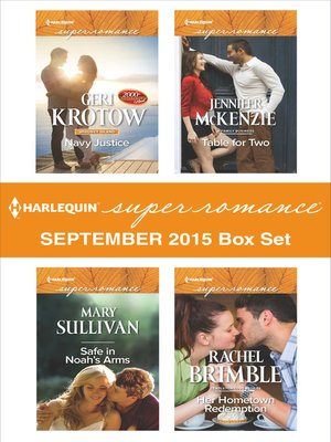 cover image of Harlequin Superromance September 2015 Box Set