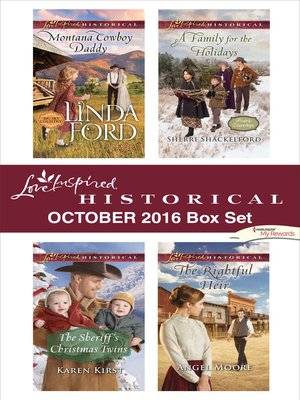 cover image of Harlequin Love Inspired Historical October 2016 Box Set