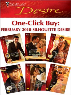 cover image of One-Click Buy: February 2010 Silhouette Desire